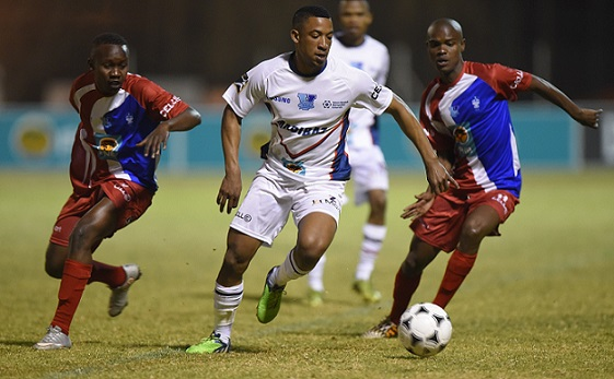 Onela Beqezi will join the Madibaz football team when they take on Wits in the second round of the 2015 Varsity Football tournament in Johannesburg at 6pm on Monday night. Photo: SASPA