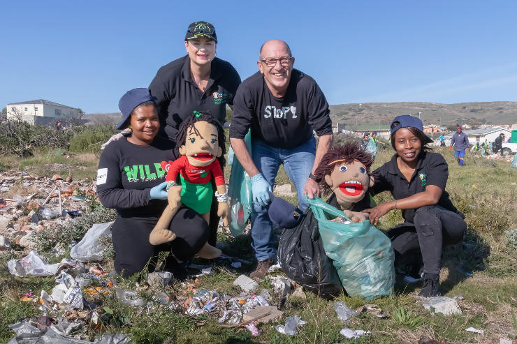 SPAR EC Mandela Day clean-up
