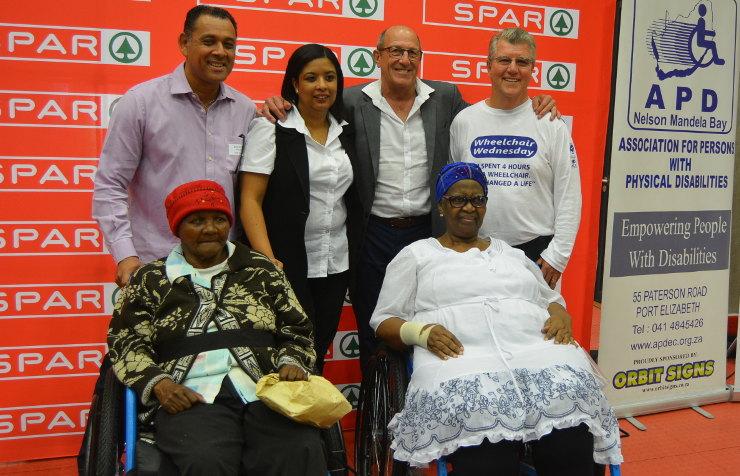 2019 SPAR Wheelchair Wednesday handover