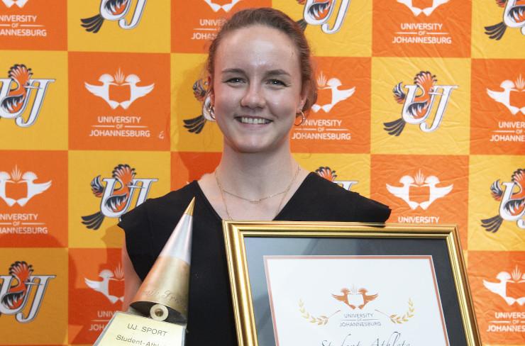 UJ squash player Alexa Pienaar