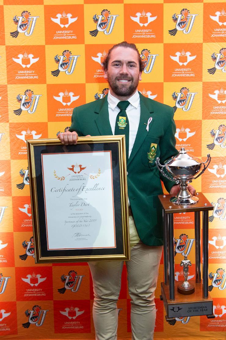 University of Johannesburg hockey star Taylor Dart