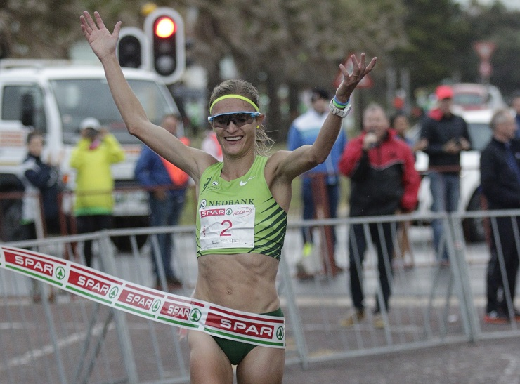 One of South Africa's top runners, Irvette van Zyl has been closely involved with the SPAR Women's Challenge,