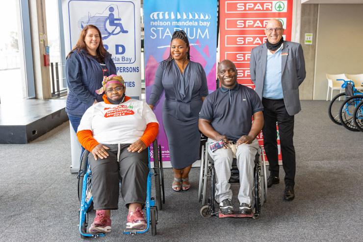 Spar Wheelchair Wednesday